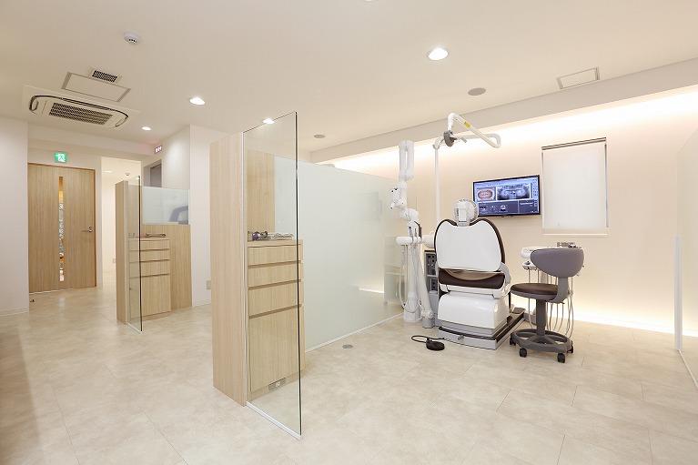 診察室(たまプラーザ青葉区歯医者歯科口コミ評判おすすめ)